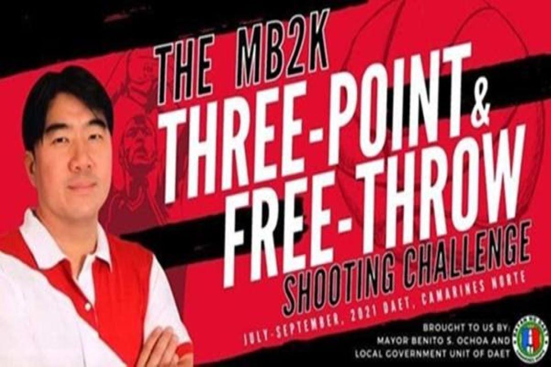 IKA-DALAWANG BATCH NG MB2K THREE-POINT AT FREE THROW SHOOTING CHALLENGE, ISINAGAWA