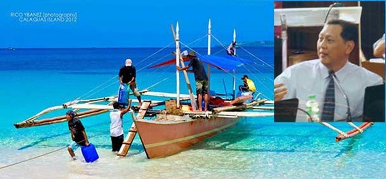 COUN. JAY PIMENTEL SANGGUNIANG BAYAN NG VINZONS, MAGSASAGAWA NG ORDINANSA PARA SA REGULASYON SA CALAGUAS ISLAND