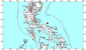 Lalawigan ng Camarines Norte niyanig ng magkakasunod na lindol ngayong umaga!