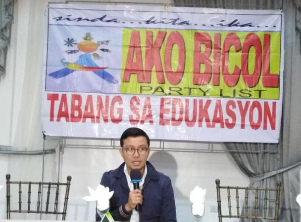 Ako-Bicol Party List tutol sa pagbaba ng Criminal Liability; proyekto para sa kabataan at edukasyon patuloy na isusulong ng partido!