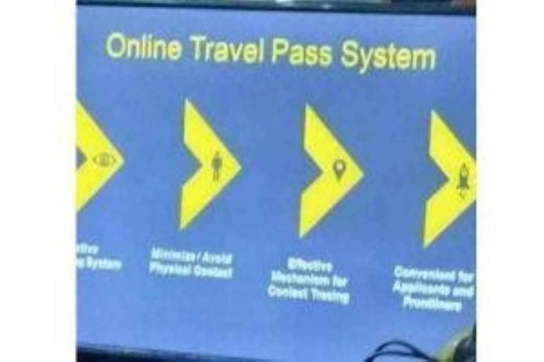 ONLINE TRAVEL PASS SYSTEM SA CAMARINES NORTE, PINAGHAHANDAAN NA NG MGA AWTORIDAD