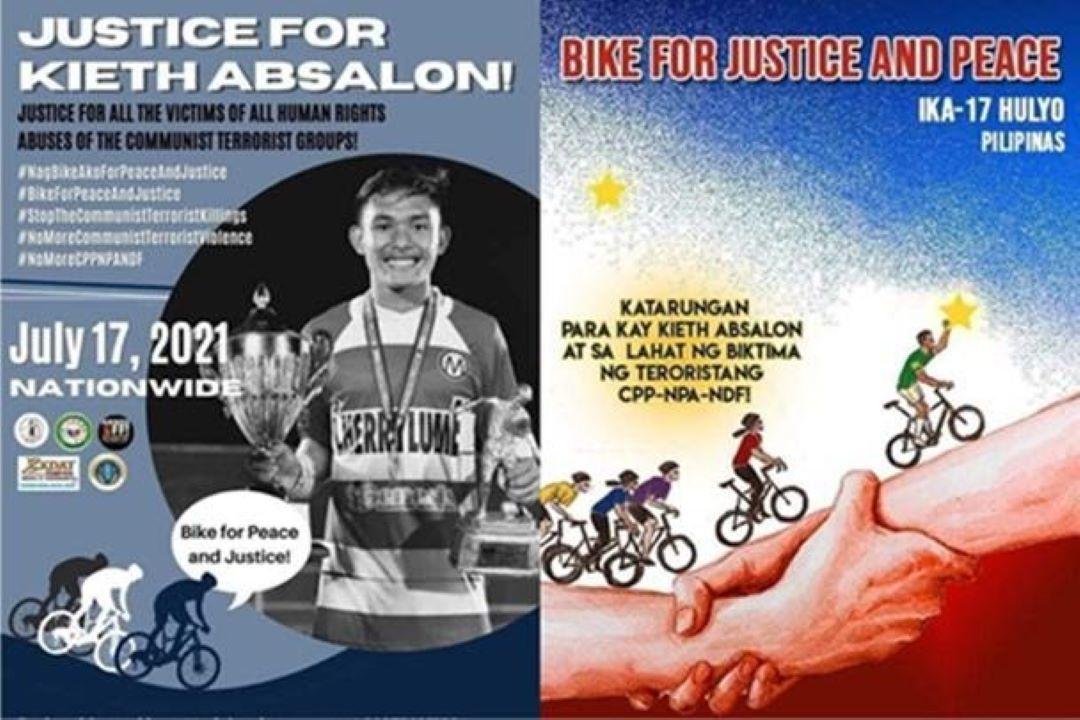 CAMARINES NORTE CYCLISTS, MAKIKIISA SA ISASAGAWANG #BIKEFORPEACEANDJUSTICENATIONWIDE