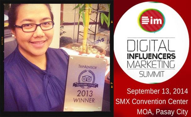 TOURISM ADVOCATE FROM BICOL INVITED TO SPEAK AT SMX FOR DIGITAL INFLUENCERS MARKETING(DIM) SUMMIT 2014!!!