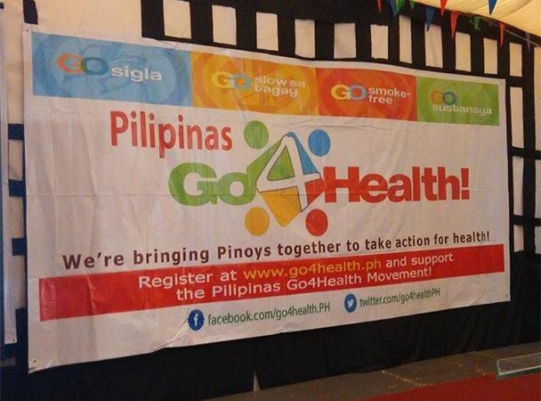 """PROGRAMANG """"PILIPINAS GO 4 HEALTH"""" NG DEPARTMENT OF HEALTH, PINASIMULAN NA SA CAMARINES NORTE!"""