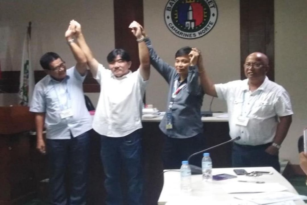 "Mayor Benito ""B2k"" Ochoa Iprinoklama Na Bilang Alkalde Ng Daet!"