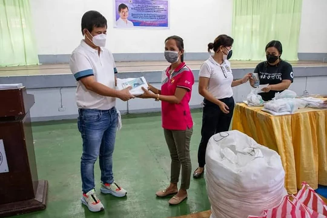 PGCN DISTRIBUTES ALMOST ₱1.3M HONORARIUM TO CHIL DEV'T WORKERS IN THE PROVINCE
